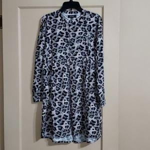 Buffalo David Bitton Leopard Tunic Dress